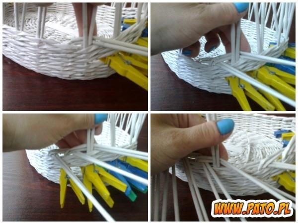 Мастер-класс по плетению корзинки из газетных трубочек (4) (600x450, 173Kb)
