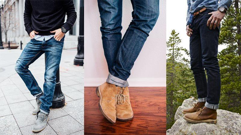 дезерты с джинсами