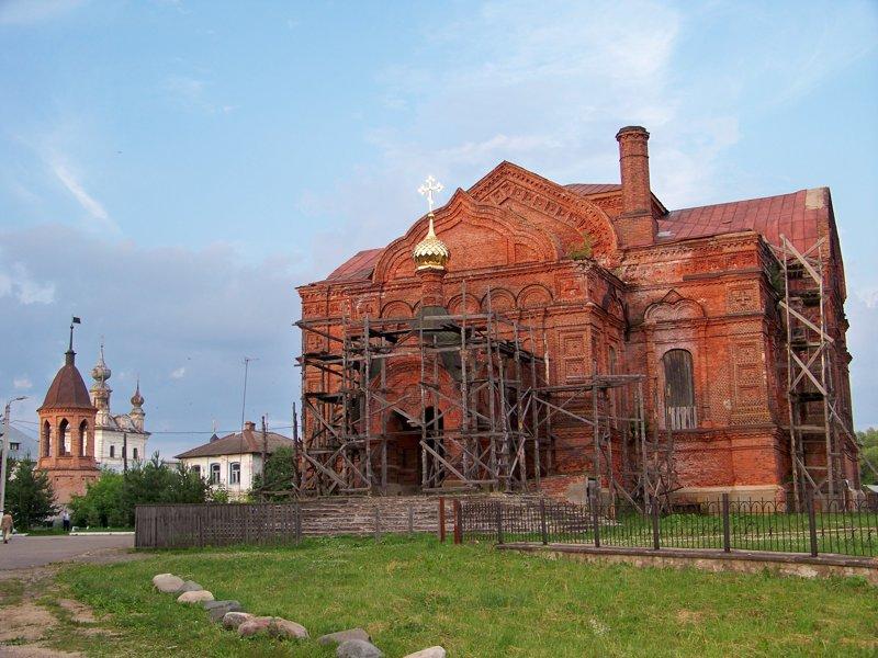 В советское время у церкви были снесены главы ! Города России, владимирская область, красивые места, пейзажи, путешествия, россия