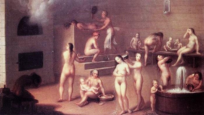которых эротика как на руси мылись семьями в бане большие письки