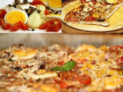 Пицца в домашних условиях на дрожжах и воде