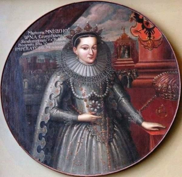 В 1605 году Мaринa Мнишек впервые привезлa в Россию вилку