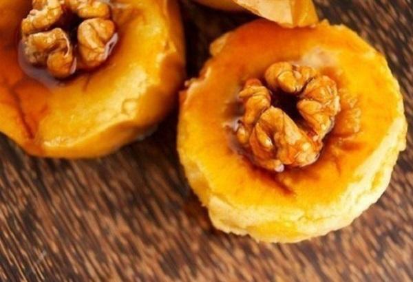грецкие орехи в меду