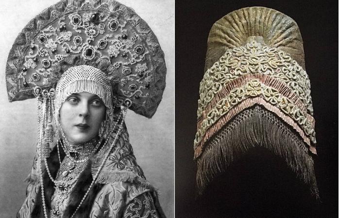 Кокошник - забытая корона русских красавиц