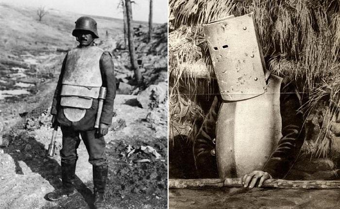 Кто во что горазд: Доспехи солдат Первой мировой войны, которые сегодня вызывают ухмылку