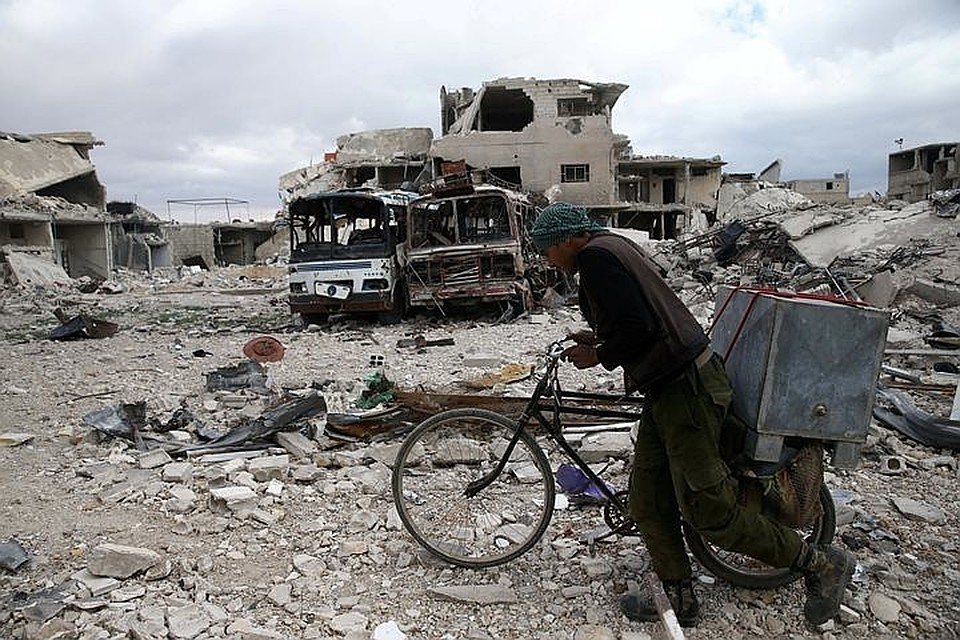 Российские военные займут «пораженный химоружием» сирийский город