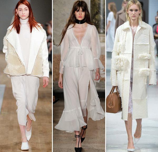 Как носить светлую одежду зимой. Советы стилистов