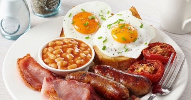 Выбор блюд для завтрака, обеда и ужина