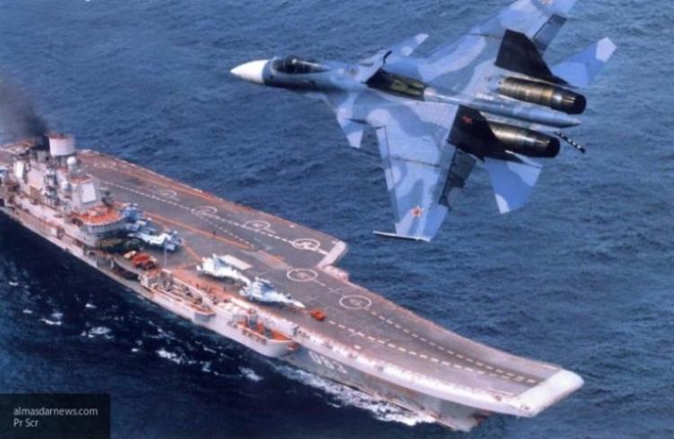 «Адмирал Кузнецов» вновь стал поводом для тревоги западных СМИ
