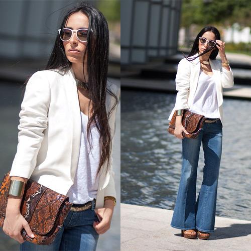 Как носить джинсы буткат: 29 стильных образов для вашего гардероба