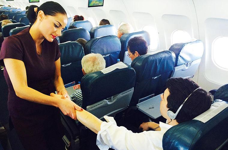 Самые необычные услуги авиакомпаний в разных странах