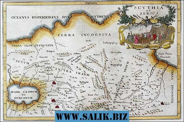 Как древнегреческий историк Геродот в V в. до н.э. описывал земли нынешней России