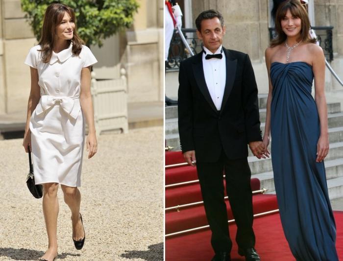 Карлу Бруни-Саркози, супругу экс-президента Франции Николя Саркози, часто называют олицетворением французского шика.