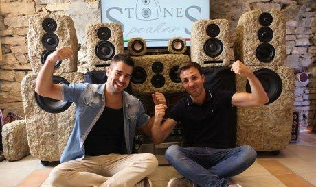 Итальянский стартап приступил к изготовлению акустических систем из камня