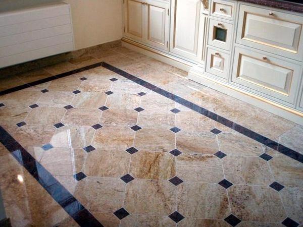 Какой пол лучше сделать на кухне — выбираем напольное покрытие