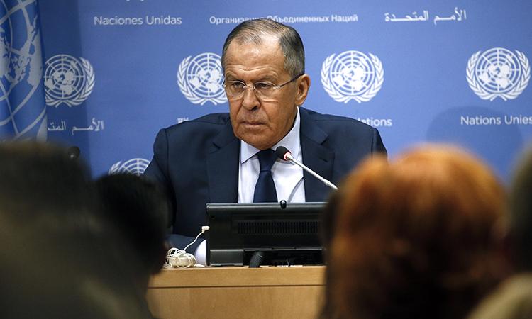 Лавров обвинил США в затягивании конфликта в Сирии