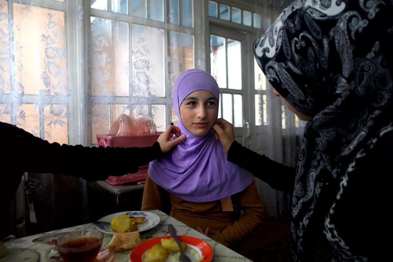 Воспитание чеченских женщин