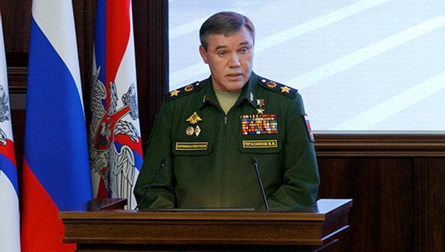 Выступление начальника Генерального штаба Вооружённых Сил России Валерия Герасимова. Часть 2