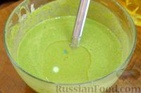 Фото приготовления рецепта: Шпинатные блинчики с начинкой из сельди - шаг №5