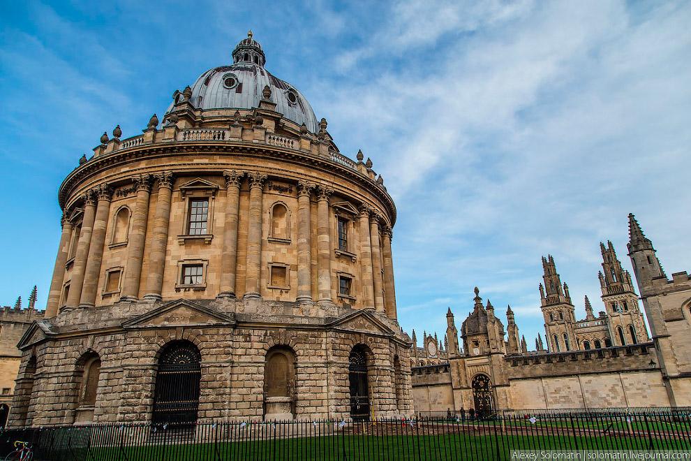 Оксфорд в фотографиях