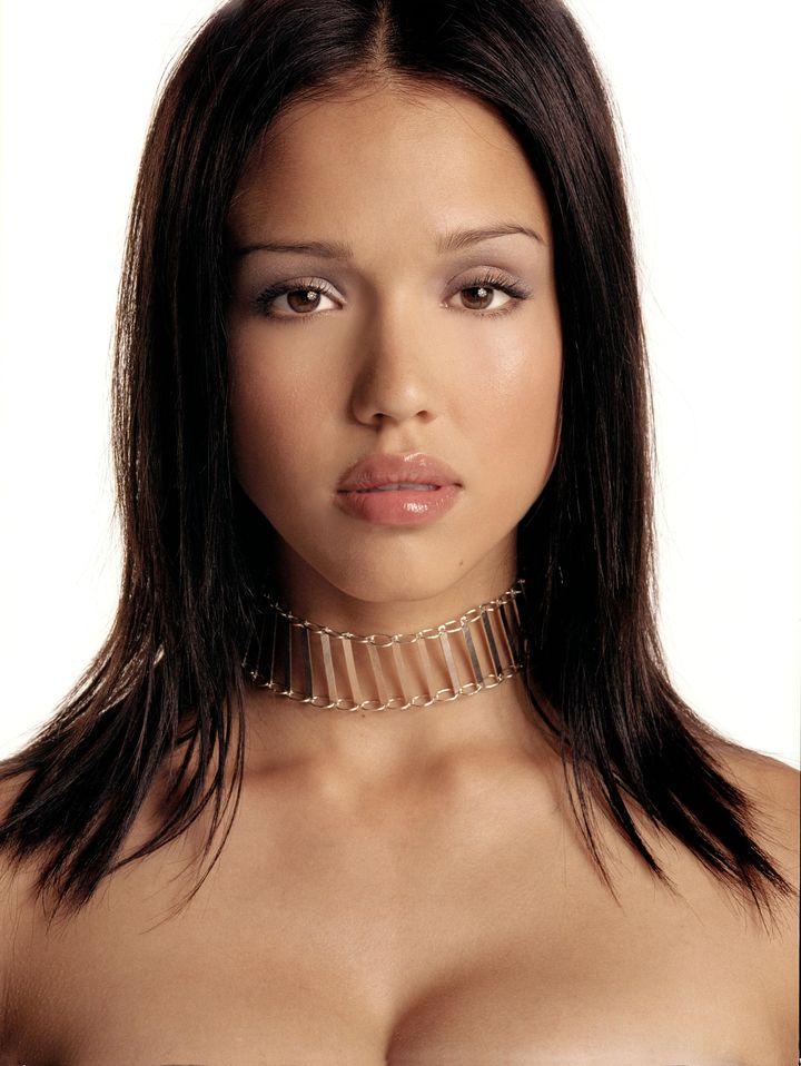 Джессика Альба  в фотосессии Стива Шоу  для журналаInStyle 2001