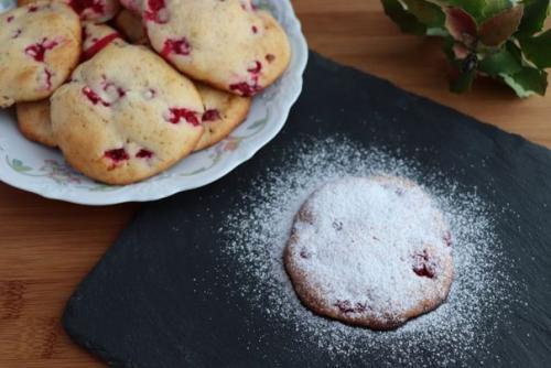 Печенье с ягодами.