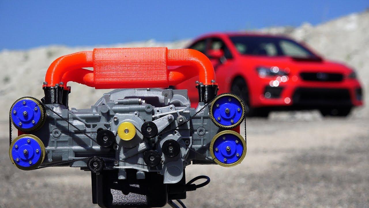 Как работает оппозитный двигатель: вид изнутри