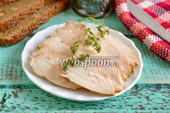 Куриная грудка «бутербродная» в мультиварке