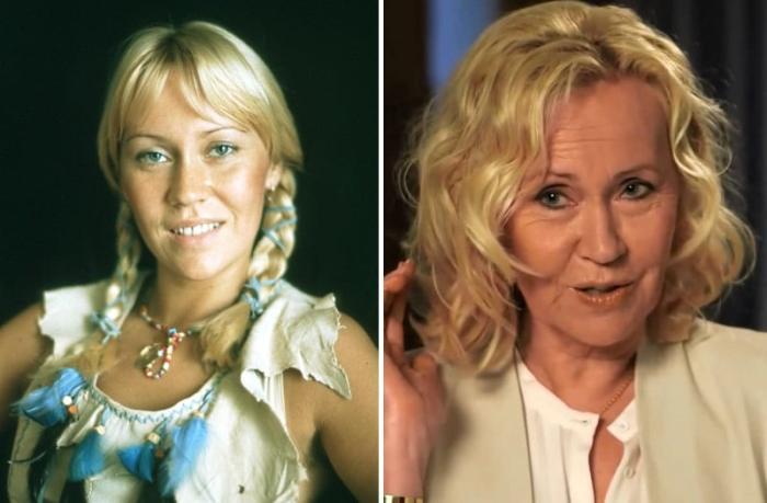 Агнета Фельтског тогда и сейчас | Фото: worldi.ru