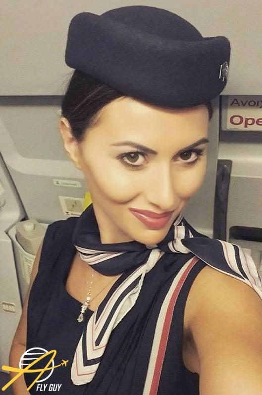 6. Греция - Aegean Airlines люди, пилоты, стюардессы