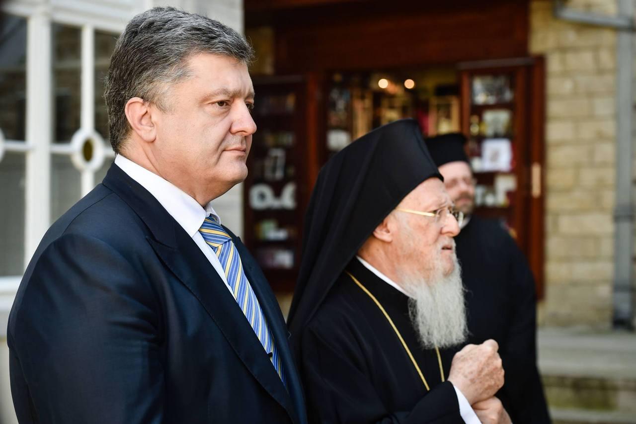 «Режим не вечен»: Порошенко пытается обмануть патриарха Варфоломея