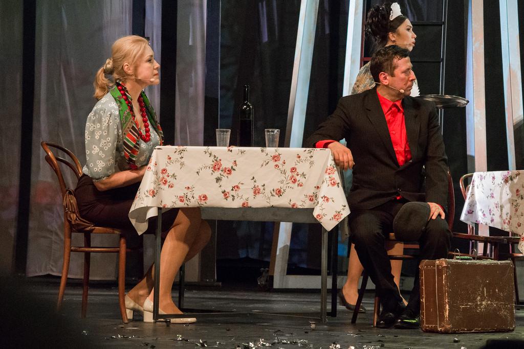 """Мария Шукшина и Андрей Мерзликин. """"Калина Красная"""" 43 года спустя."""