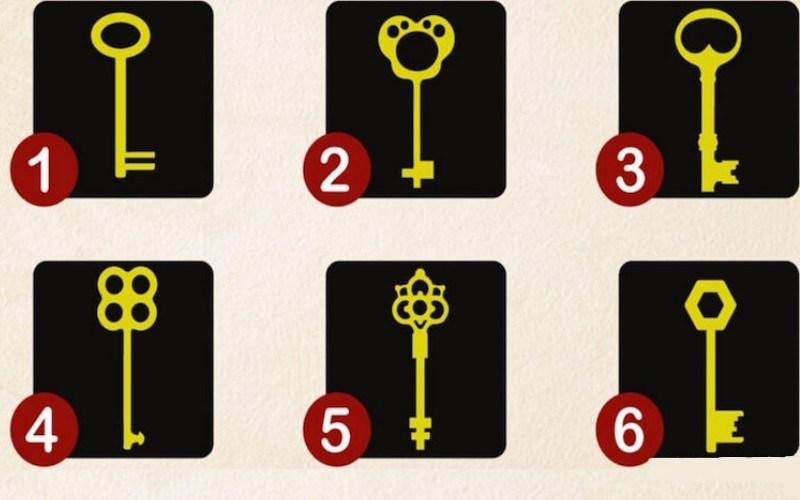 Тест с ключами от подсознани…