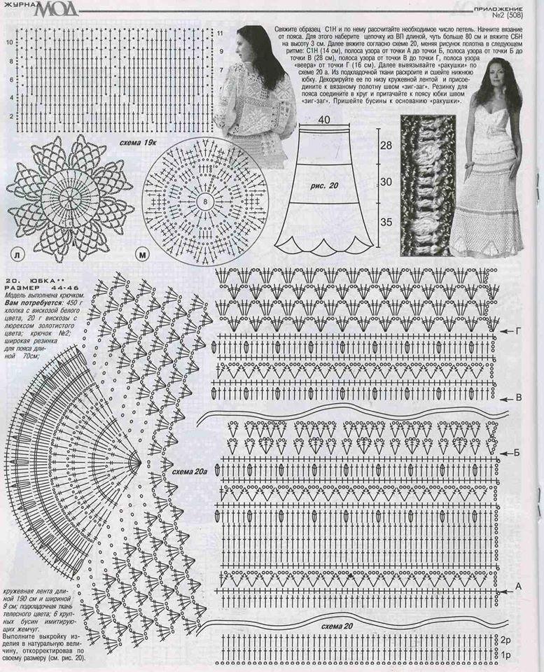 Схемы вязания купальников крючком с описанием 2018 37