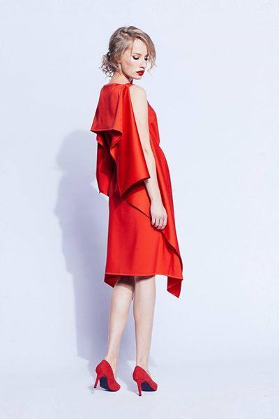 Платье-квадрат от Ксении Герц
