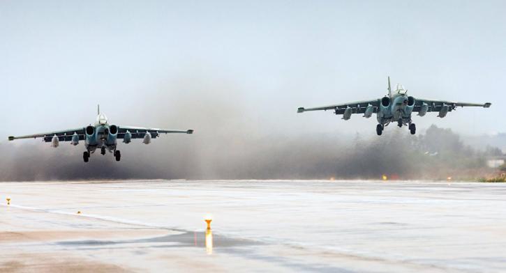 Российские военные отомстили за обстрел своей базы в Сирии