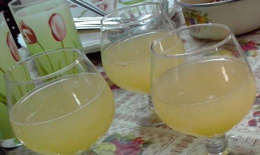 Винный напиток из кабачков