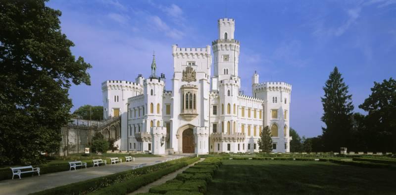 Замки Чехии: замок Глубока (часть вторая)