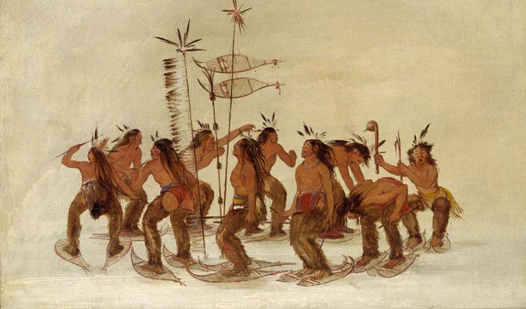 Птичья ловушка индейцев оджибве