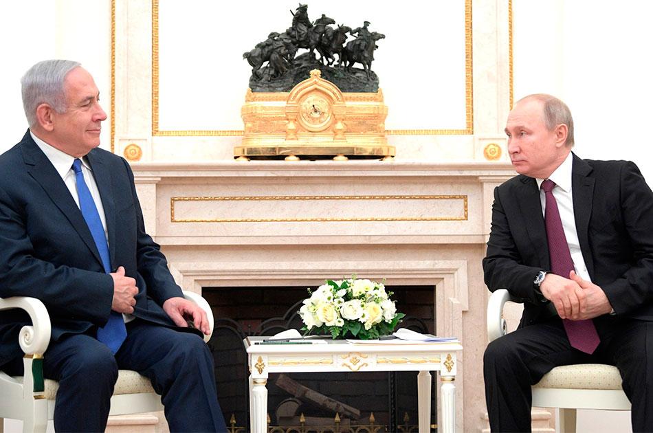 Нетаньяху привез Путину весточку от Трампа