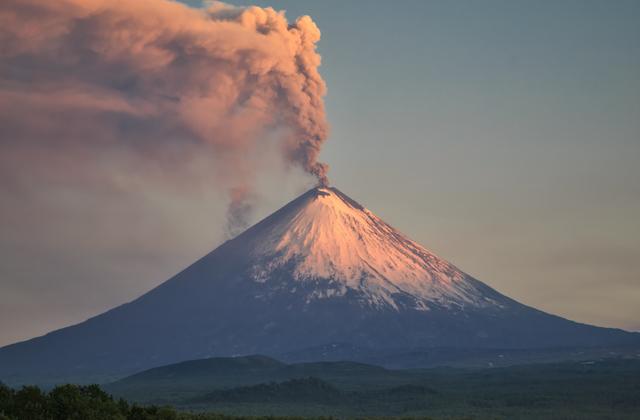 Ключевская Сопка (Ключевской вулкан), Камчатка