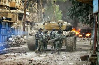 Тяжелые бои в Дамаске, сотни убитых