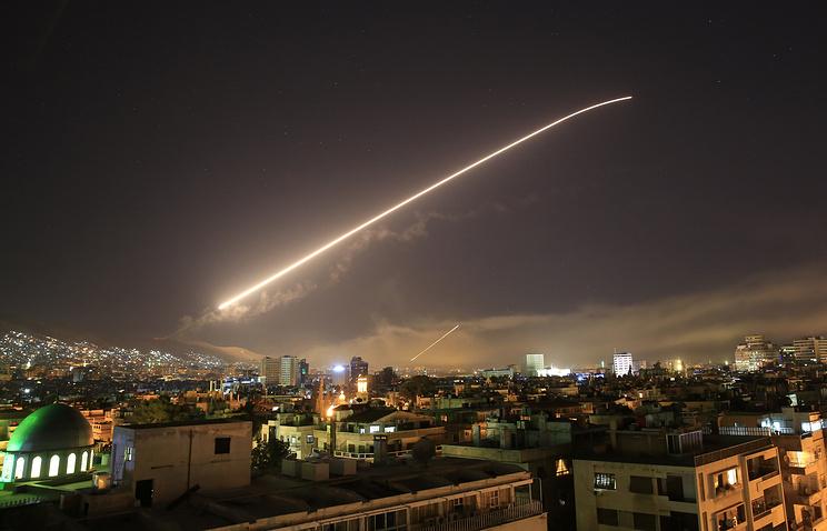 СМИ: ракетные удары по Сирии продолжались 50 минут