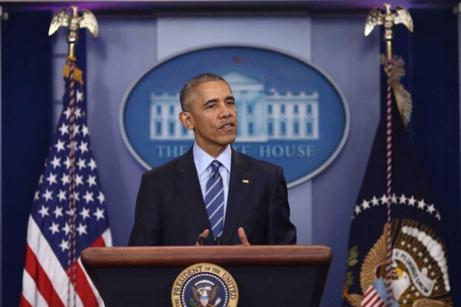 Обама уходит, повторяя слова…