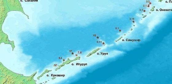 Украина потребует своей доли от передаваемых Японии в счёт репараций островов Шикотан и Хабомаи