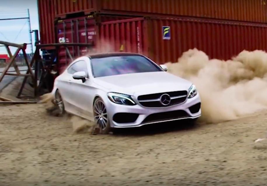Mercedes-Benz рассказал о лучших трюках со своими машинами