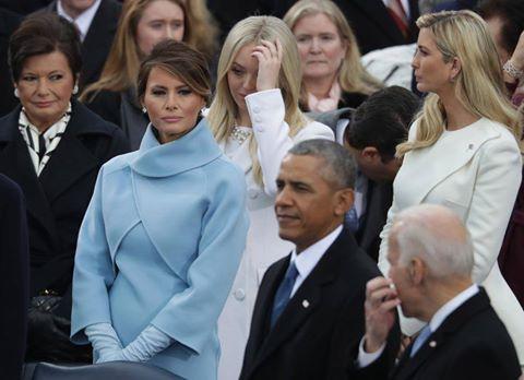 Загадка пальто жены Трампа