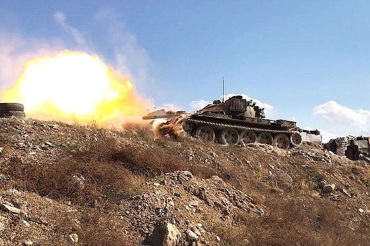 В Сирии правительственные войска захватили модернизированную систему ПВО боевиков, которой сбивали сирийские вертолеты под Дамаском