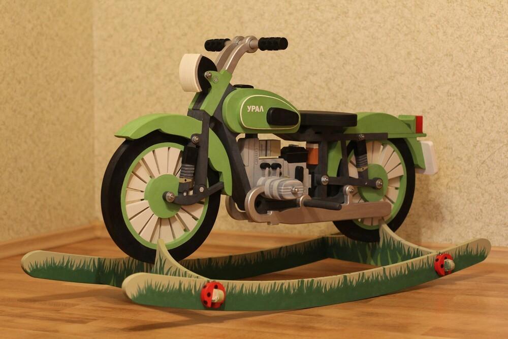 Делаем «мотоцикл УРАЛ» для р…