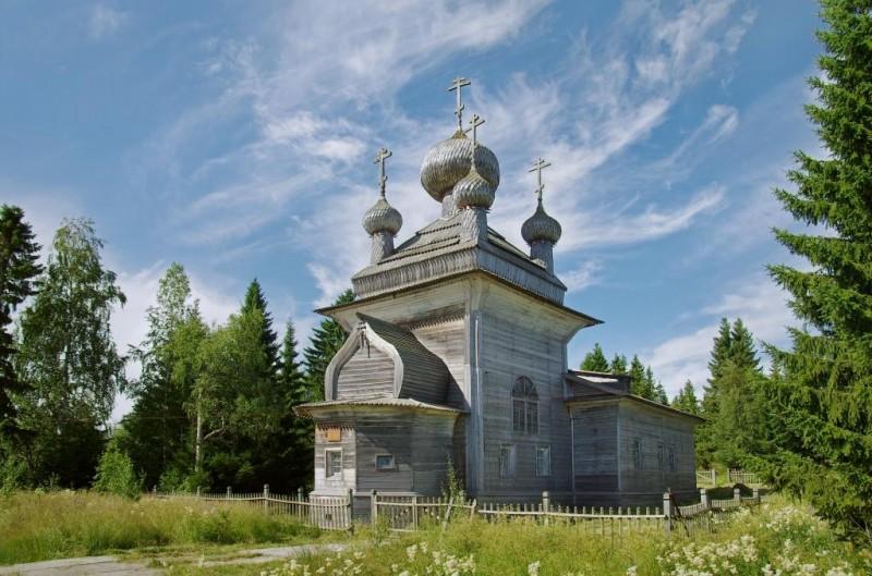 Основные типы русского деревянного храма